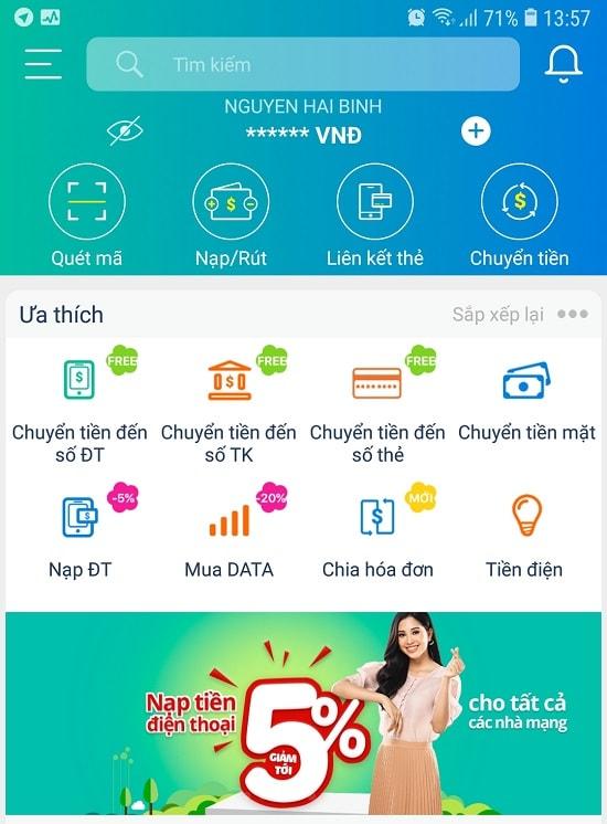 Nạp thẻ Viettel bằng mã QR trên ứng dụng ViettelPay